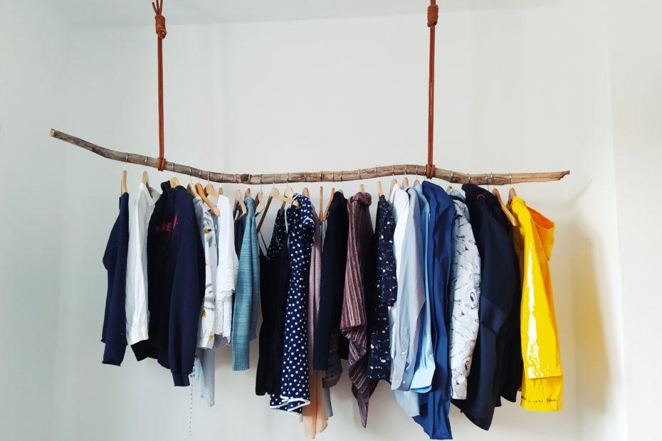 Nachhaltig weiterdenken: Kleiderschrank mit Kletterseilen